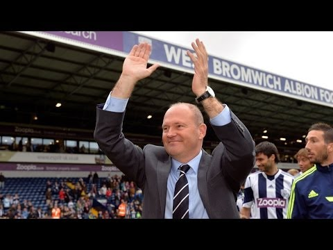 Pepe Mel thanks West Bromwich Albion players and fans after final Premier League game of the season