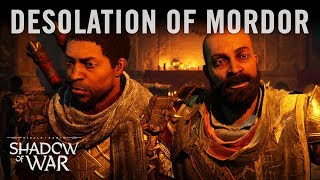 Shadow of War - Desolation of Mordor Cinematic Reveal
