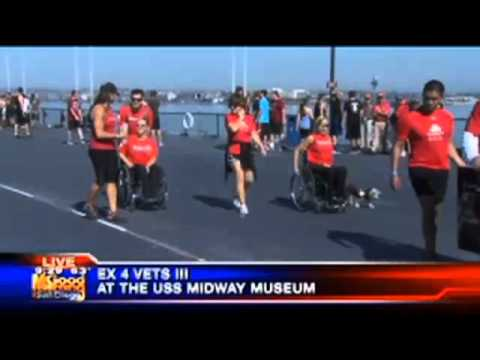 San Diego KUSI live coverage of EX 4 Vets III Part 4