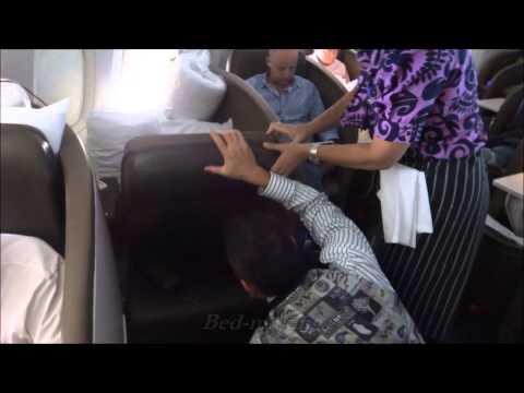 Air New Zealand Business Class Premier Auckland - Tokyo Narita