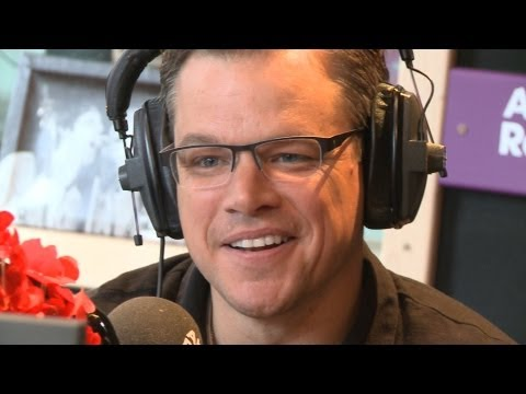 Matt Damon - full Absolute Radio interview 2013