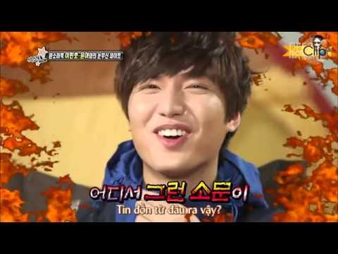 VIETSUB 130208 SNSD Yoona Cut Lee Minho Section TV Entertainment