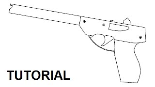 Tutorial Simple 14 Shot Rubber Band Pistol