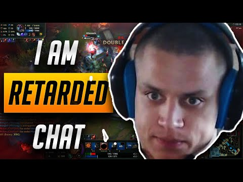 CHAT I AM SO RETARDED LEAGUE OF LEGENDS DAILY MOMENTS FUNNY MONTAGE