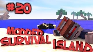 Survival Island Modded - Minecraft: Luck Hit Us! Part 20