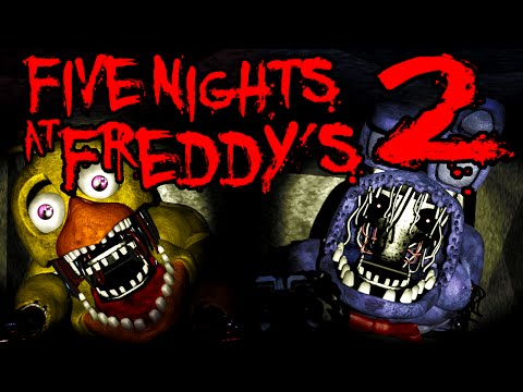 Five Nights at Freddy's 2 Old Chica & Bonnie's Revenge NIGHT 3 Cutscene Horror BLIND Gameplay PART 4