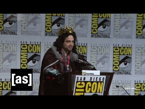 Rick and Morty Panel SDCC 2014 | Rick and Morty | Adult Swim,