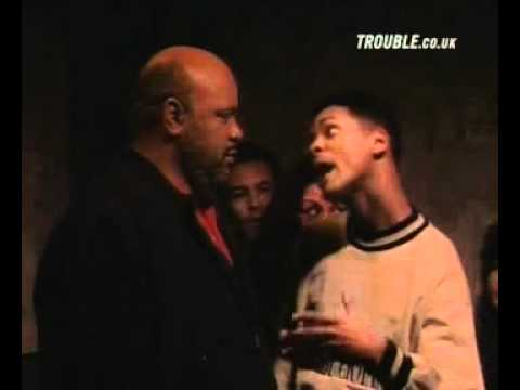 Will and Uncle Phil stuck in an elevator - Fresh Prince Of Bel-Air