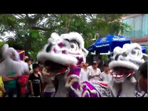 Mùa Trung Thu Múa Lân Dạo Tại P.5 Thành Phố Tuy Hoà Phú Yên 2012