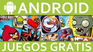 TOP 10 Juegos Para Android GRATIS 2013 Los Mejores