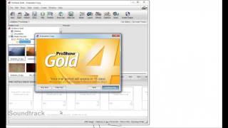 การติดตั้ง Proshow Gold