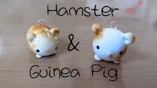 Hamster & Guinea Pig Tutorial: Polymer Clay Charms