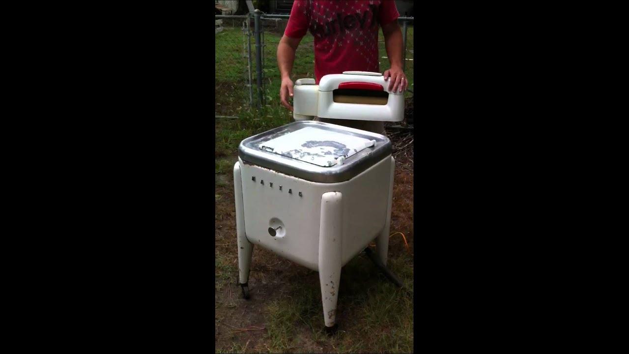 1950 S Fully Functional Maytag Ringer Washer Youtube