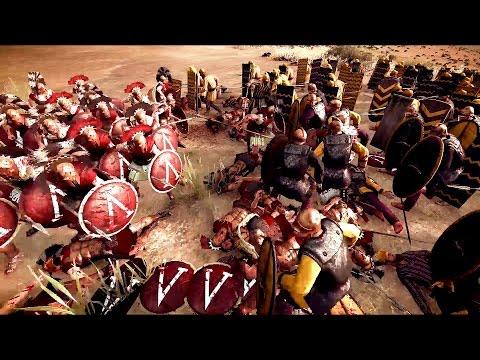 300 Spartans vs 3000 Persians Rome 2 Total War