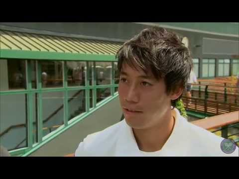 Kei Nishikori's perfect day as a Wimbledon fan - Wimbledon 2014