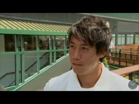 Kei Nishikori's perfect day as a Wimbledon fan - Wimbledon 2014