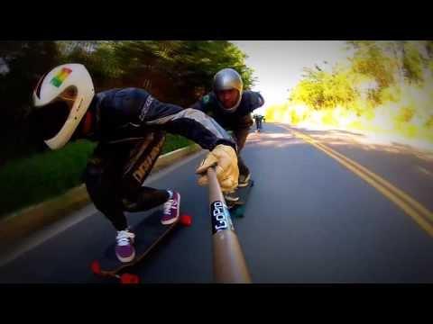 Rubim Downhill Speed - Drop Mata Verde, ES - Go Skate Longboard ES - gopro