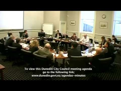 Dunedin City Council - Infrastructure Services Committee - June 3 2014