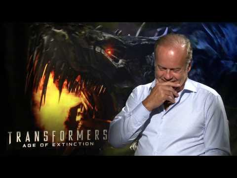 "Transformers 4: Age of Extinction: Kelsey Grammer ""Harold Attinger"" Official Movie Interview"