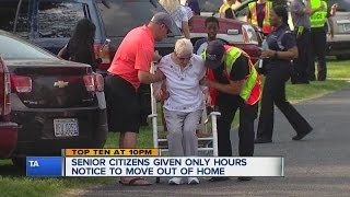 Seniors evicted from assisted living facility