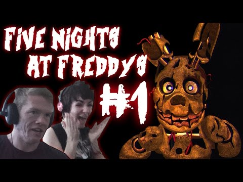 Five Nights At Freddy's 3 With Caitlin! #1