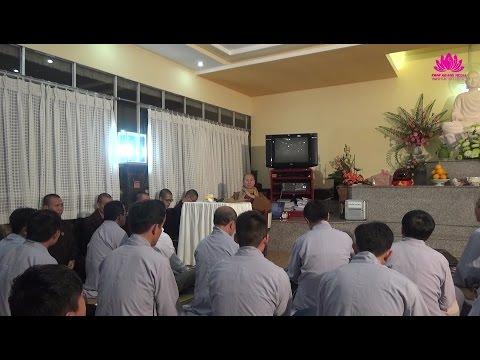 Nói chuyện với Đạo Tràng Phật Định - TT. Thích Chân Quang