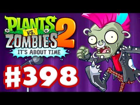 Plants vs. Zombies 2: It's About Time - Gameplay Walkthrough Part 398 - Neon Mixtape Tour, Side A