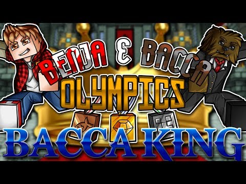 Minecraft: Benja & Bacca Olympics Game 10 - Bacca King!