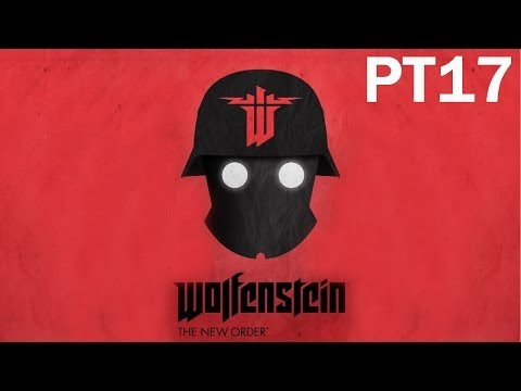 Wolfenstein: The New Order Walkthrough - PT17 - Riding in the Mini-Sub