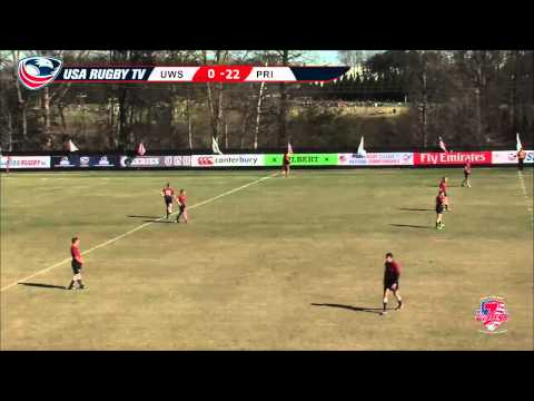 2013 USA Rugby College 7s National Championship: UWS vs  Principia