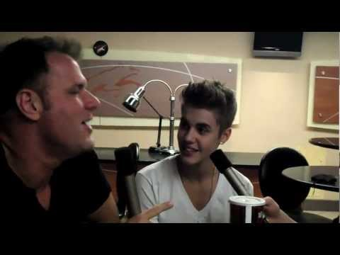 Justin Bieber Interview with Johnjay and Rich Backstage at 'Believe' Tour - Video