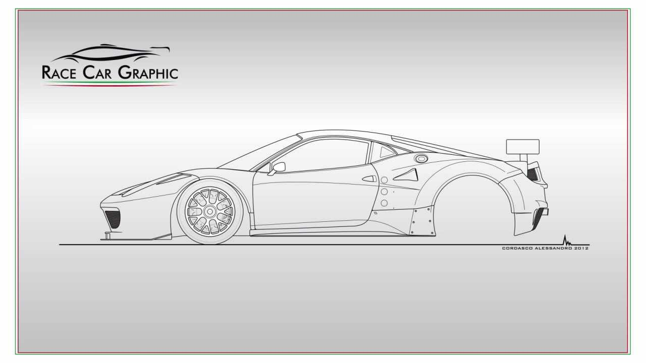how to draw a ferrari 458 italia gt2 youtube. Cars Review. Best American Auto & Cars Review