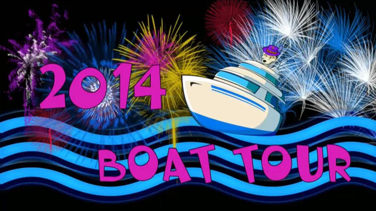 trick2g 2014 boat tour youtube