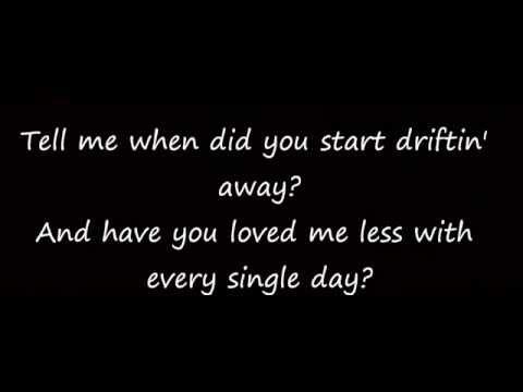 When Did You Stop Loving Me Hunter Hayes lyrics