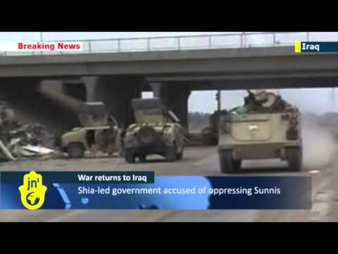 Iraq army faces all-out war with al-Qaida in Fallujah: al-Qaeda insurgents have seized Iraqi city