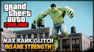 GTA 5 Glitches Max Rank Strength And Shooting Glitch