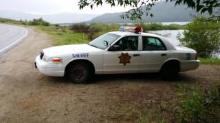 In at least one Colorado county, the Sheriff's patrol sometimes goes unarmed.