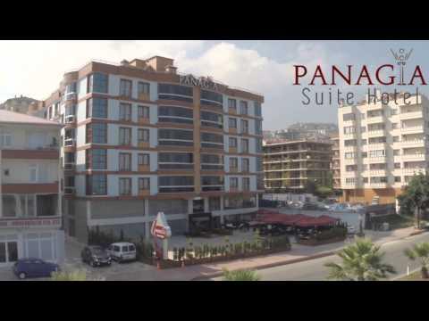 Panagia suite hotel havadan görüntüleme