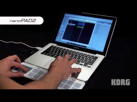 Korg nanoPAD2 Slim Line USB Controller (Black)