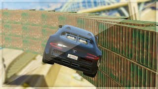 Super Double Wallride Race (GTA 5 Funny Moments)