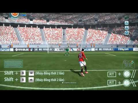 [FIFA Online 3 Việt Nam] Hướng dẫn 5: Kỹ thuật xử lý bóng cấp độ 5 sao