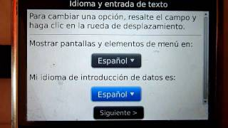 Video Tutorial: Como Instalar Otros Idiomas En El Blackberry