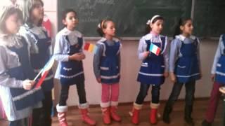 Copii cântă despre Unire