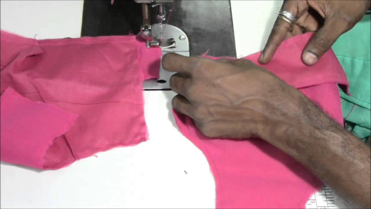 Youtube.Com Blouse Cutting 104