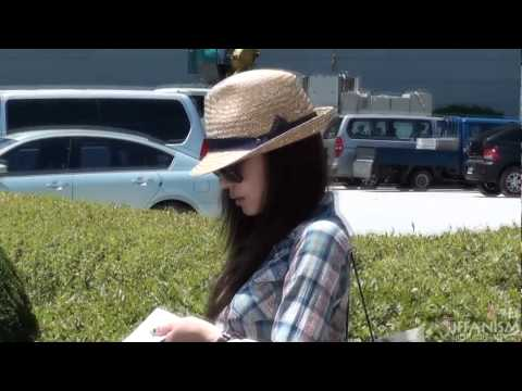 [fancam] 110719 incheon airport arrival SNSD TIFFANY