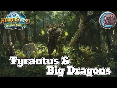 Tyrantus Ramp Druid Witchwood | Hearthstone Guide How To Play