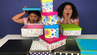 DON'T CHOOSE THE WRONG MYSTERY BOX OF SLIME CHALLENGE