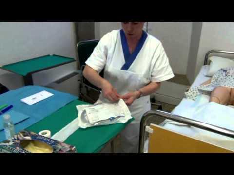 Cateterismo vescicale femminile