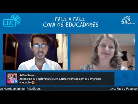 Canal Saberes e Letras – Live Face a Face com o educador