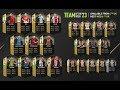 TOTW 23 PACK OPENING SEARCHING FOR 89 CAVANI AND 86 JORDI ALBA FIFA 18 ULTIMATE TEAM